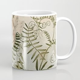"""Fairy Resting Among Flowers"" by Amelia Jane Murray Coffee Mug"