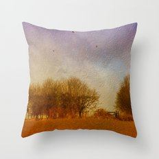 Synchronised Throw Pillow