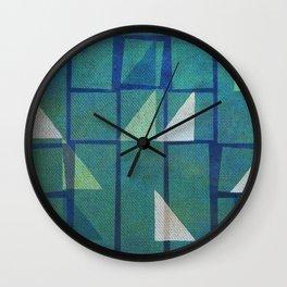 Night Sailing Wall Clock