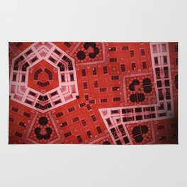 Difformed cityscape Rug