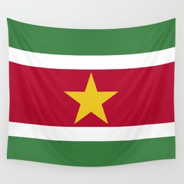 Suriname Flag Wall Tapestry