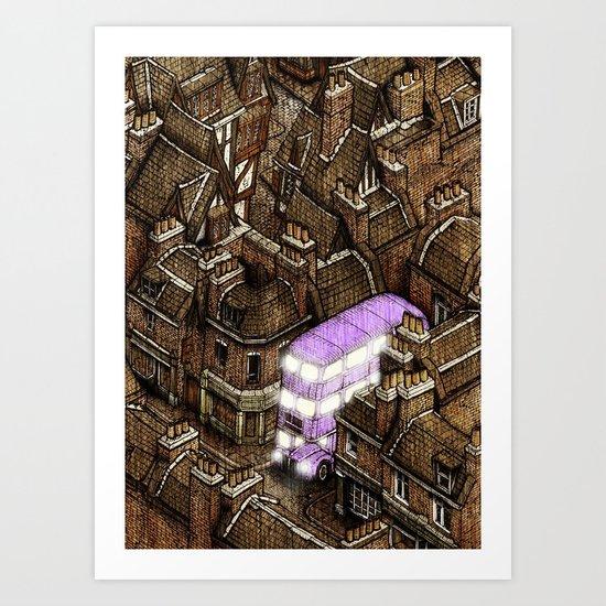 Diagonally 2/2 Art Print