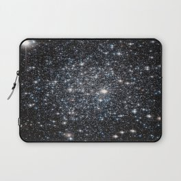 Stars : subtle black blue gold Laptop Sleeve