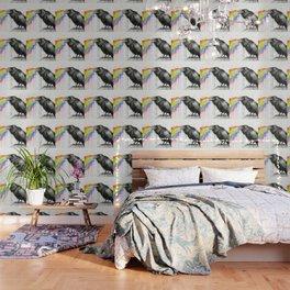 Raven Tastes the Rainbow Wallpaper