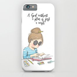 Miss Lily Shades Goal getter iPhone Case