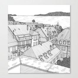 nyon Canvas Print