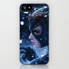 Catwoman Painting iPhone (5, 5s) Slim Case