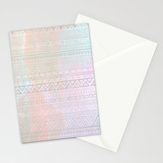 Tribal Pastel Watercolor  Stationery Cards