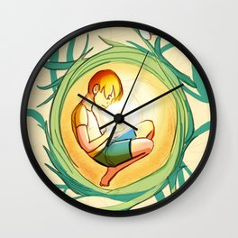 Tangled Thoughts Wall Clock