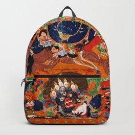 Buddhist Diety Mahakala 2 Backpack
