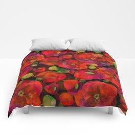 Poppy field #2 Comforters