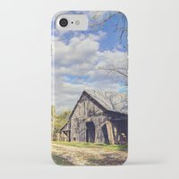 kentucky iPhone & iPod Cases featuring Kentucky Barn by JMcCool