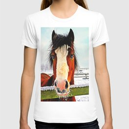 Snowy Whiskers T-shirt