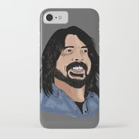 dave grohl iPhone & iPod Cases featuring Dave Grohl - Fan Art by Matty723