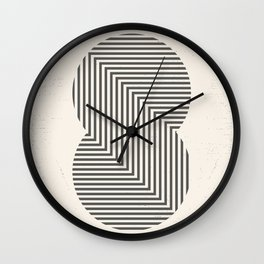 From here to infinity Wall Clock