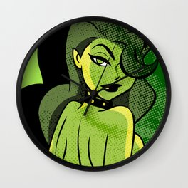 Ladies of DC - Poison Ivy Wall Clock