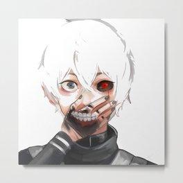 Kaneki Ken Tokyo Ghoul Metal Print