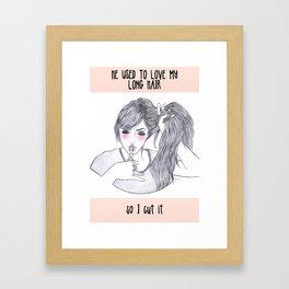 -Exposed secret #22 Framed Art Print