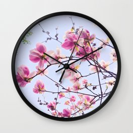 Sweet Magnolia Wall Clock