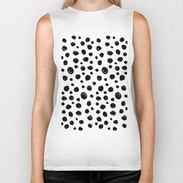 abstract dots Biker Tank
