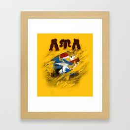 LUL Puerto Rican 2013 Framed Art Print