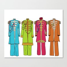 Sargent Peppers Canvas Print