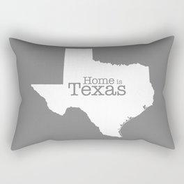Home is Texas Rectangular Pillow
