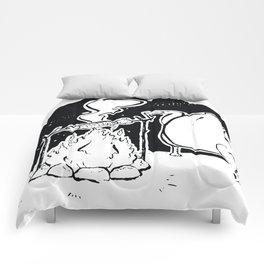 Don't burn yourself Comforters