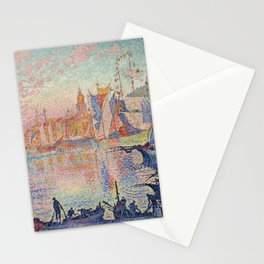 Paul Signac - The Port Of Saint Tropez Stationery Cards