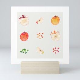 Cloud Land apples  Mini Art Print