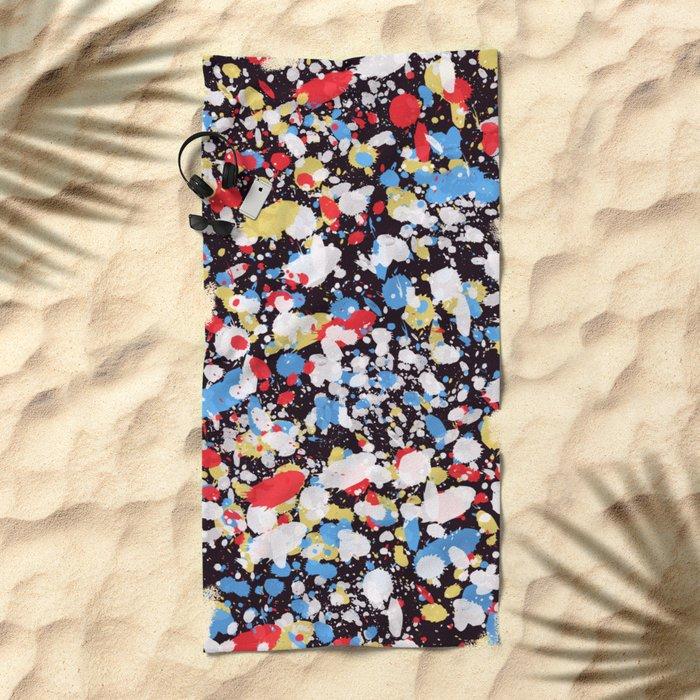 Abstract 35 Beach Towel