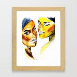Belles Framed Art Print