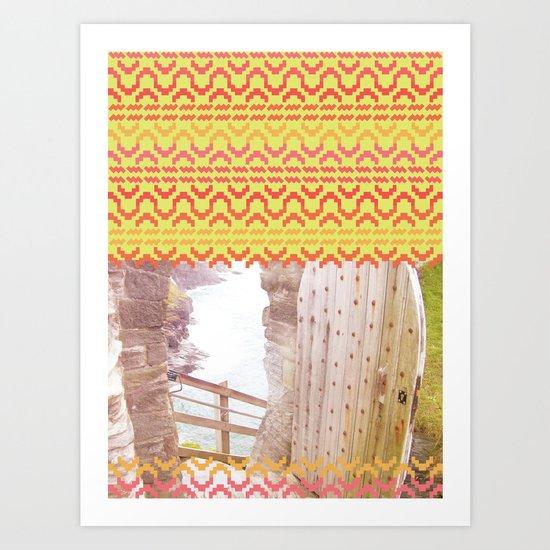 AZTEC 'Door Into Summer'_1-1 Art Print