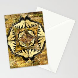 Butterfly Octagon Stationery Cards