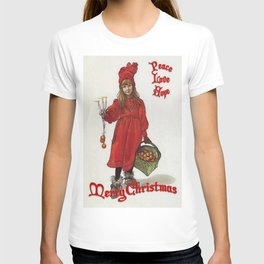 Peace, Love and Hope at Christmas T-shirt