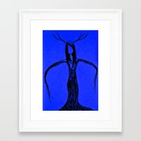 elf Framed Art Prints featuring Elf by Mikhaelle A.