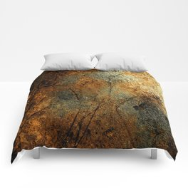 Rust Texture 69 Comforters