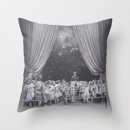 In which flash photography is discouraged Throw Pillow