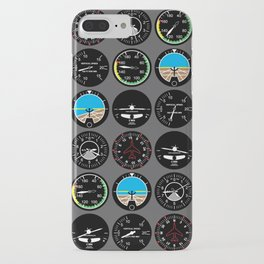 Flight Instruments iPhone Case