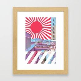 疲れ都市 /// Framed Art Print