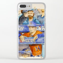 AJ Hinch  – Astros Manager Clear iPhone Case