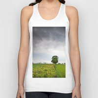 irish Tank Tops featuring Irish landscape by Aaron MacDougall