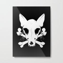 Dead Dogs 'n' Bones Metal Print