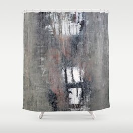"""1232-1 antique green girl"" Shower Curtain"