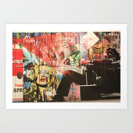 mr brainwash Art Print