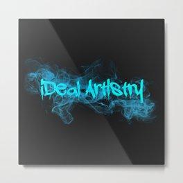 iDeal - Drippin Smoke Metal Print
