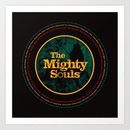 The Mighty Souls: Reggae Legends Art Print