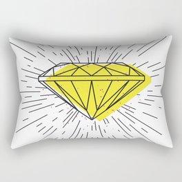 Shiny diamond Rectangular Pillow