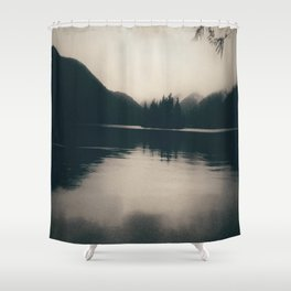 Island in a Lake Shower Curtain