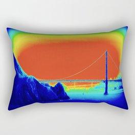 bridging realities Rectangular Pillow